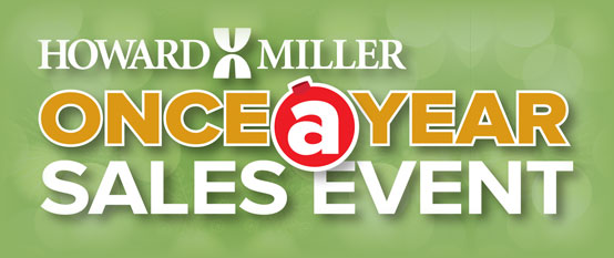 Howard Miller Once-A-Year Sales Event