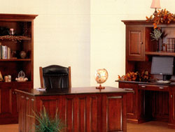 Amish Furniture : Newport Office Collection