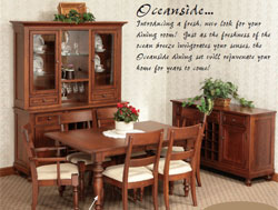 Amish Furniture : Oceanside Dining Collection