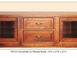 Amish Furniture : Oceanside Low Plasma Stand