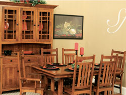 Amish Furniture : Olde Mission Dining Collection