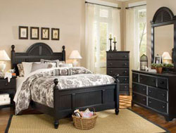 Bedroom Furniture : Midnight Cottage Bedroom Collection by Carolina Furniture Works
