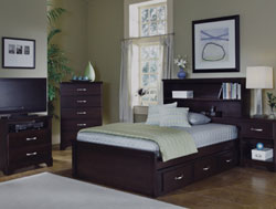 Bedroom Furniture : Signature Bookcase Bedroom Collection by Carolina Furniture Works