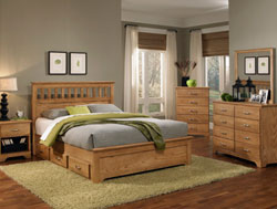 Bedroom Furniture : Sterling Bookcase Bedroom Collection by Carolina Furniture Works