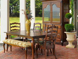 Amish Furniture : Amish Provence Dining Collection
