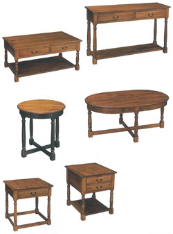 Amish Furniture : Biltmore Occasional Tables Collection by Hill Finishing