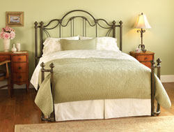 Bedroom Furniture : Marlow Metal Bed by Wesley Allen