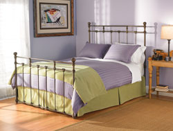 Bedroom Furniture : Sena Metal Bed by Wesley Allen